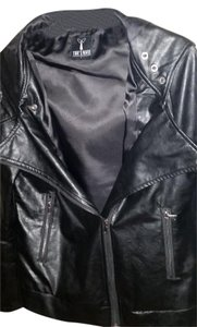 Tomsware Faux Leather Leather Jacket