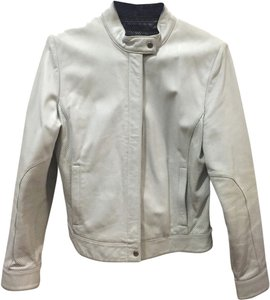 Venus Williams for Wilsons Leather White Leather Jacket