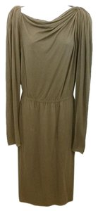 Lanvin Brown Dress