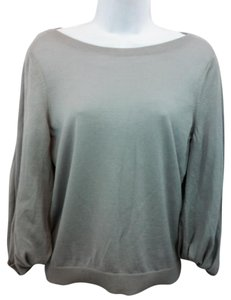 Valentino Knit Gray Wool Top