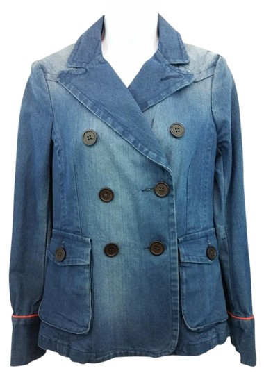 66fb11e4f41d 70%OFF Marc Jacobs Marc Faded Cotton Blue Denim 6 Jacket - hydroclean.no