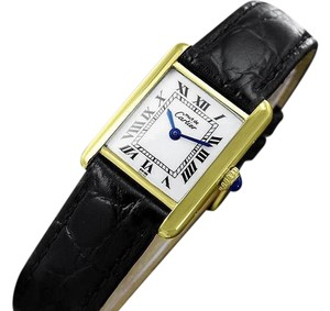 Cartier Cartier Vintage Ladies Tank Watch - Gold Vermeil, 18K Gold over SS