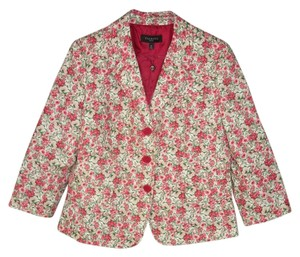 Talbots Floral Cotton Romantic Jacket