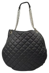 Paul & Joe Leighton Chain Strap Quilted Lamb Leather Hobo Bag