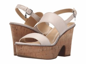 Coach A01175 Quartz Saddle Ivory Platforms