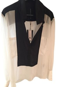 W118 by Walter Baker Small Top Black/white