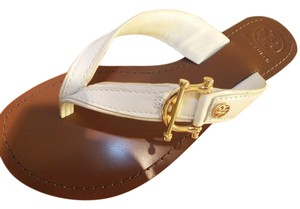 Tory Burch Thong White Sandals