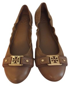 Tory Burch Tan Ballet Royal Tan Flats