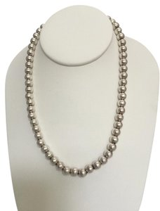 Other Sterling Silver Bead Necklace