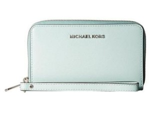 Michael Kors New With Tags Michael Kors Celadon Multi Function Phone Case