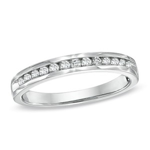 Zales 1/2 Ct T.w. Wedding Band In 14 K Gold