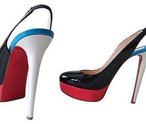 Christian Louboutin Color Block Platforms