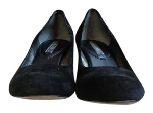 Banana Republic Trysha Kitten Heels Black Mules