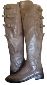 Thompson Over The Knee Boot Dark Taupe Boots
