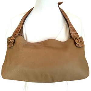 Petusco Satchel in Tan