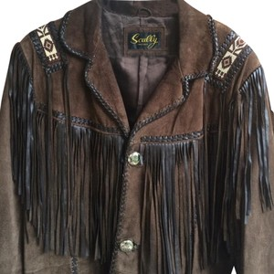 Scully Brown Leather Jacket