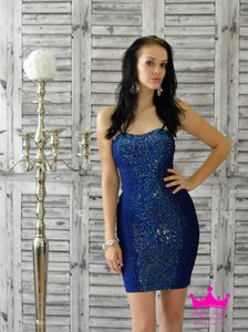 Jovani Homecoming Strapless Bandage Beaded Dress