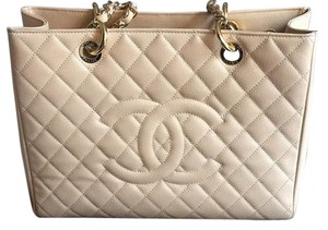 Chanel Tote in Light Beige