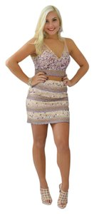 Jovani Two Piece Jeweled Homecoming Color Dress