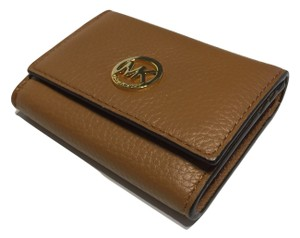 Michael Kors Michael Kors Fulton Snap Credit Card Case Holder Acorn