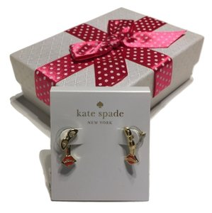 Kate Spade Kate Spade New York Stud Earrings with Bagity Gift Box (Sunglass Lips)