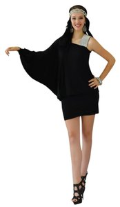 Jovani Homecoming One Sleeve Flapper Dress