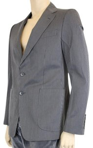 Gucci Wool Stripe Jacket Black/Gray Blazer