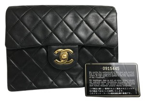 Chanel Classic Mini 2.55 Mini Square Lambskin Cross Body Bag