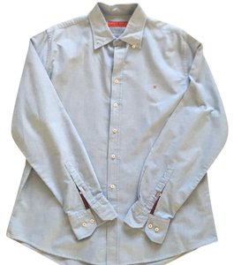 Carolina Herrera Button Down Shirt Light blue