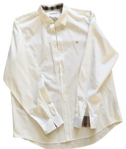 Burberry Brit Button Down Shirt White