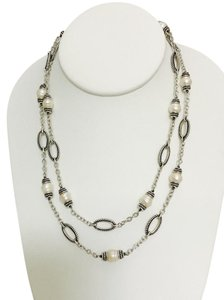 Honora Sterling Silver and Freshwater Pearl Necklace