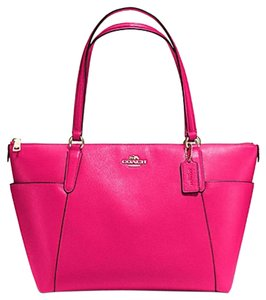 Coach Ava 37216 Tote in Pink Ruby