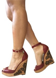 Valentino Rouge Wedges