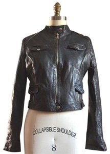 K&C Leather Leather Leather Jacket