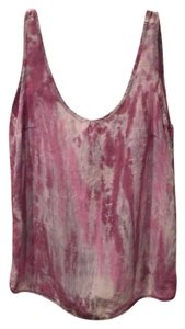 Patterson J. Kincaid Top tye dye pink and purple