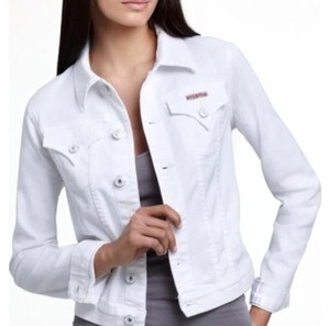 Hudson Jeans Denim Denim White Jacket
