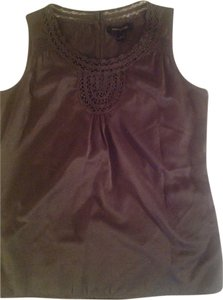 Banana Republic Womens Top Smoky Pearl