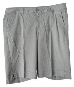 Sejour Plus-size Bermuda Shorts Brown