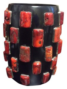 Other Genuine Red Coral Art Deco Bracelet