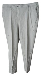 Sejour Plus-size Straight Pants Khaki