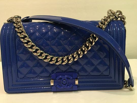 c5d22526ff85 Chanel Patent Leather Boy Bag | Stanford Center for Opportunity ...