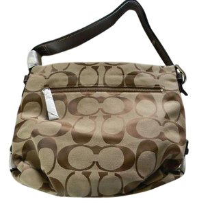 Coach New With Tag Tote in dark khaki