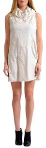 Versus Versace short dress Ivory on Tradesy