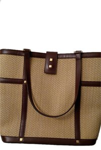 Saks Fifth Avenue Classic Vintage Night Out Tote in Tan