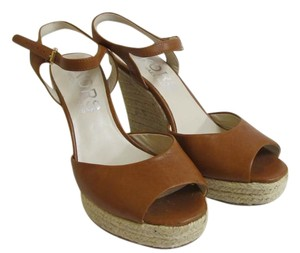 Michael Kors Sandals Tan/Honey Wedges