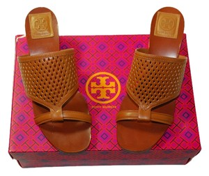 Tory Burch Tan Mules