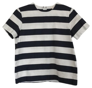 Gap Top Navy white
