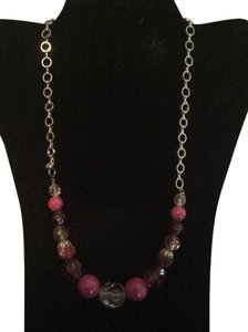 Other Pink jeweled necklace