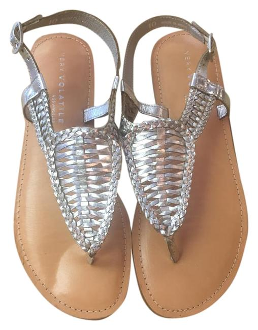 Item - Silver Sandals Size US 10 Regular (M, B)