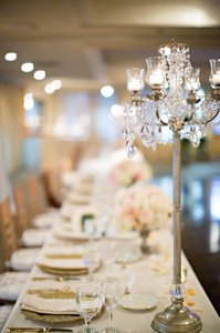 Gold And Crystal Candelabra